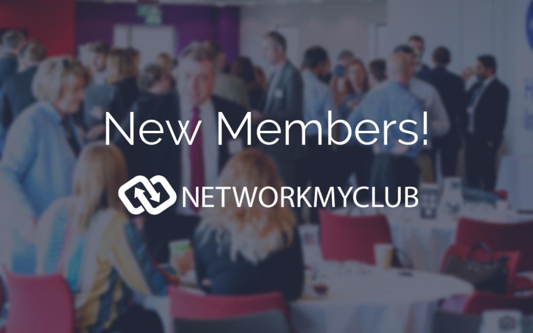 New Members – January 2019