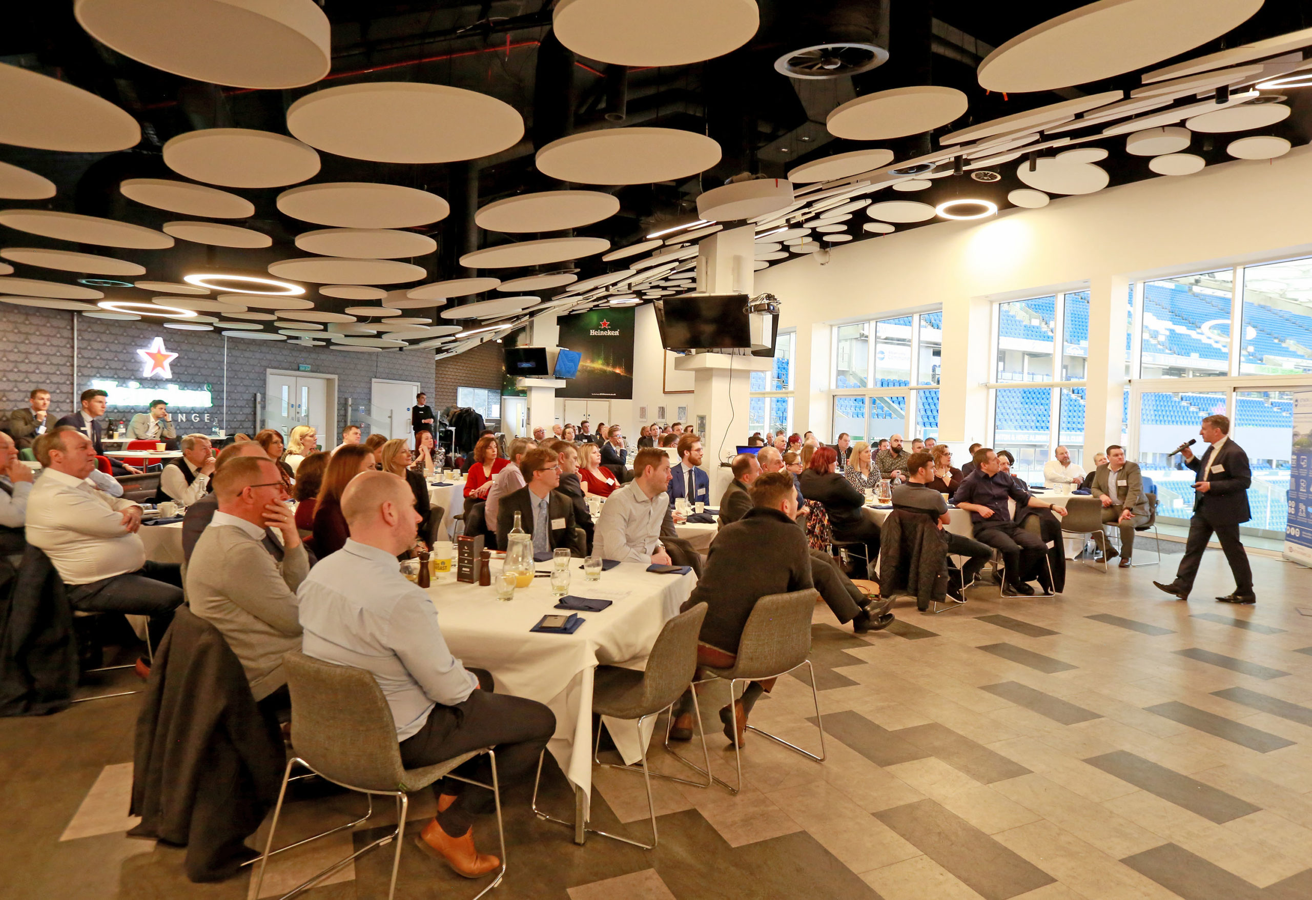 Network Albion Business Club networking breakfast January 2020