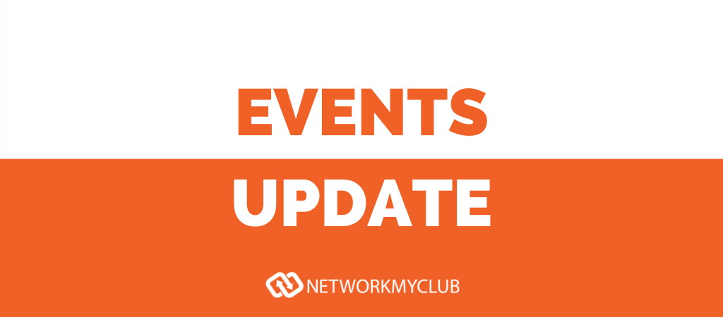 Network My Club events update