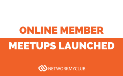 Online Member Meetups Launched!