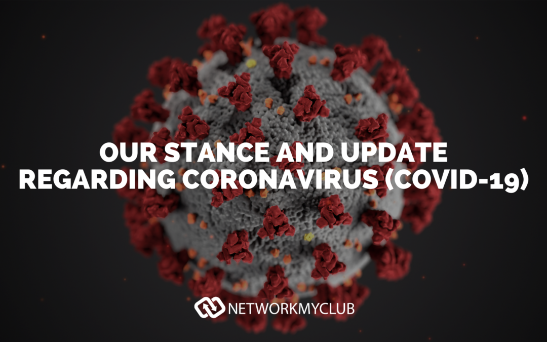 Network My Club Coronavirus (COVID-19) update