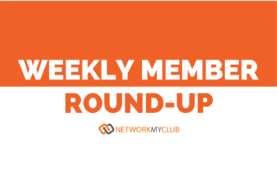 Weekly member round-up