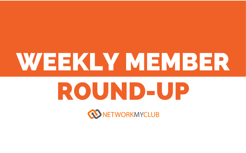 Weekly member roun- up