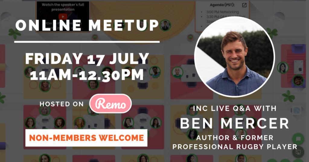 Network My Club, Ben Mercer