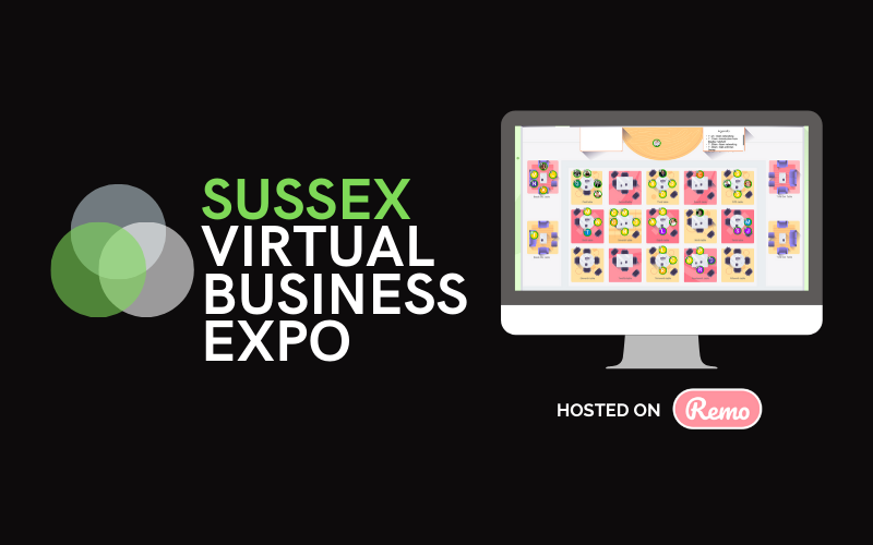 Sussex Virtual Expo, online networking