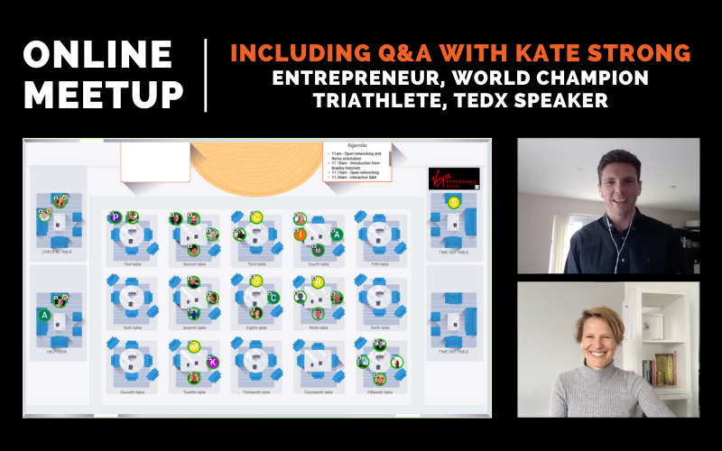 Online Meetup with Kate Strong