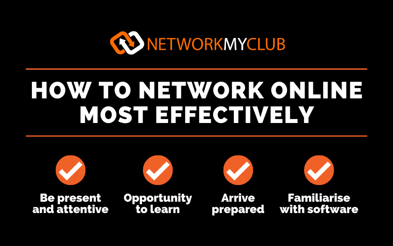 How to network online most effectively