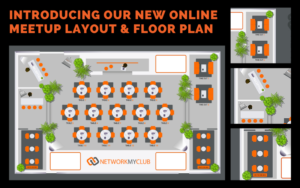 Network My Club Online Business Networking Event Remo Floorplan