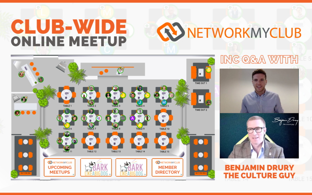 Club-Wide Online Meetup 10th October