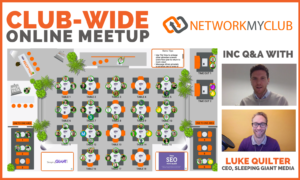 Club-Wide Online Meetup Q&A with Luke Quilter