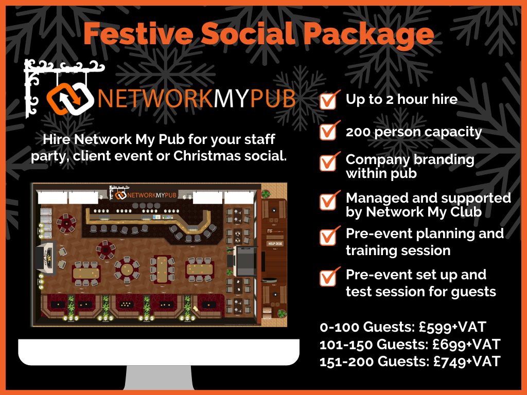 Network My Pub Festive Package