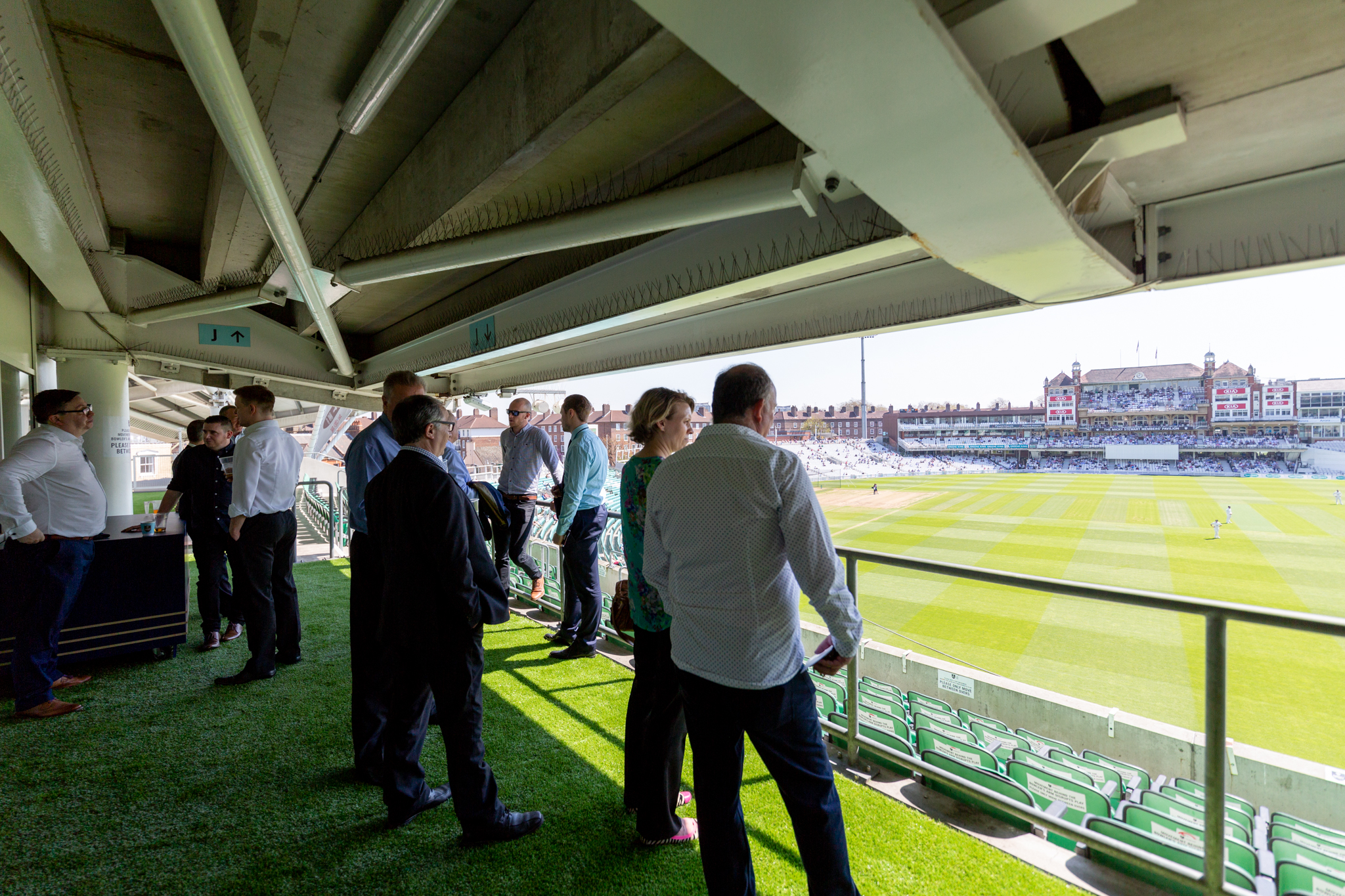 Network Oval at the Kia Oval