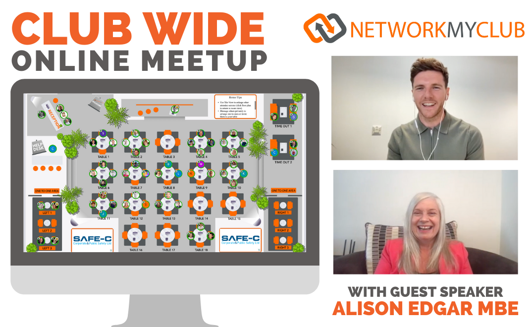 Club-Wide Online Meetup with Alison Edgar MBE