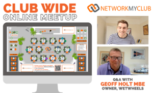 Club-Wide Online Meetup with Geoff Holt MBE