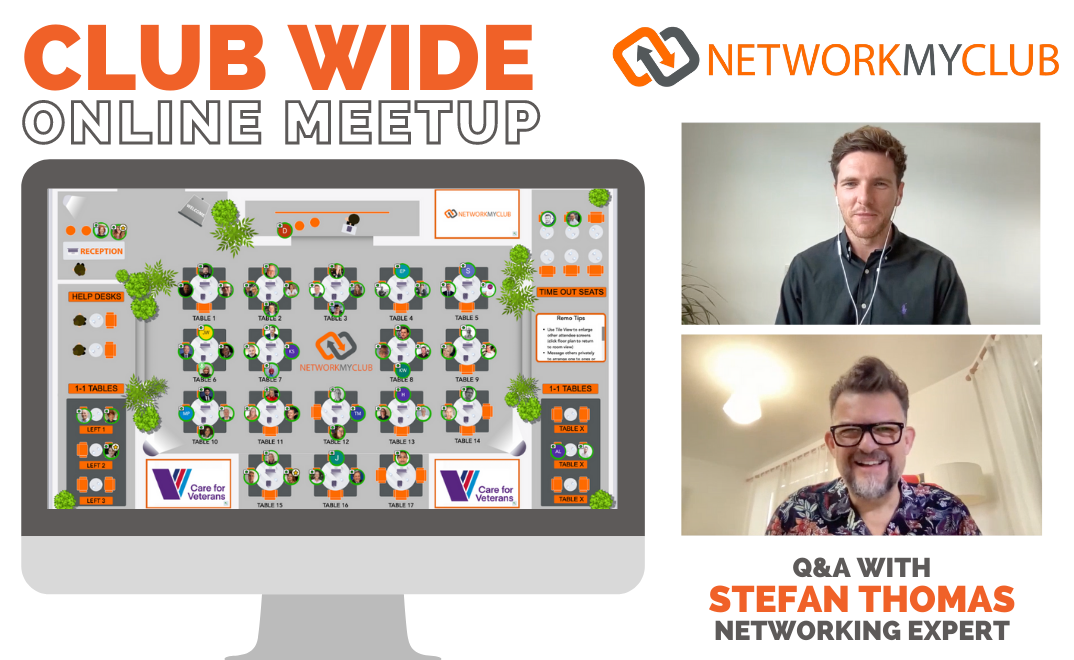 Club-Wide Online Meetup with Stefan Thomas